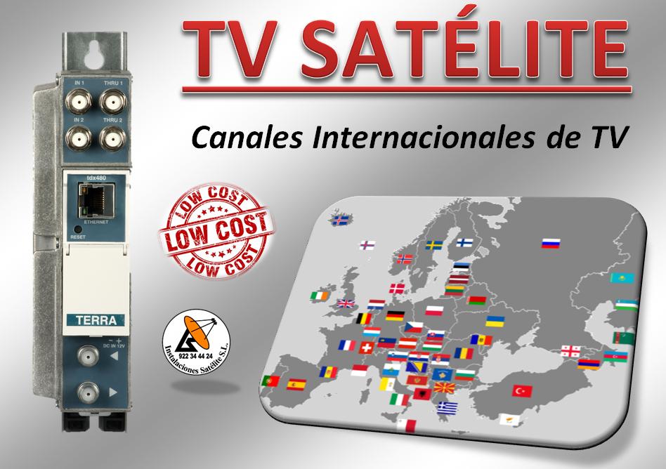 tv satélite