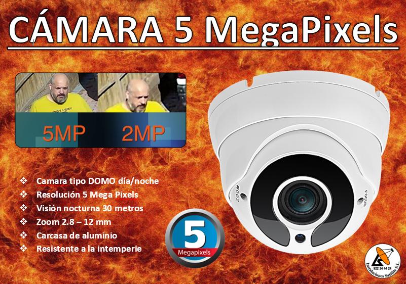 cámara 5 mpx
