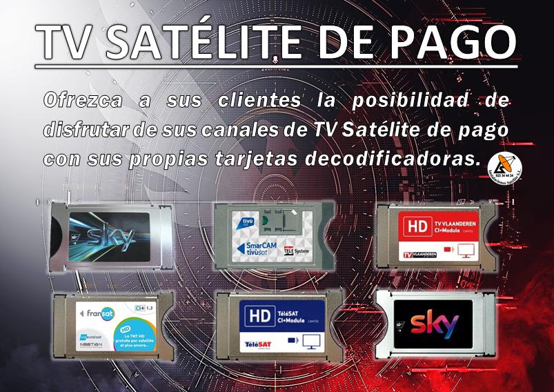 tv satélite de pago