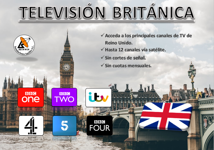Canales de televisión británicos