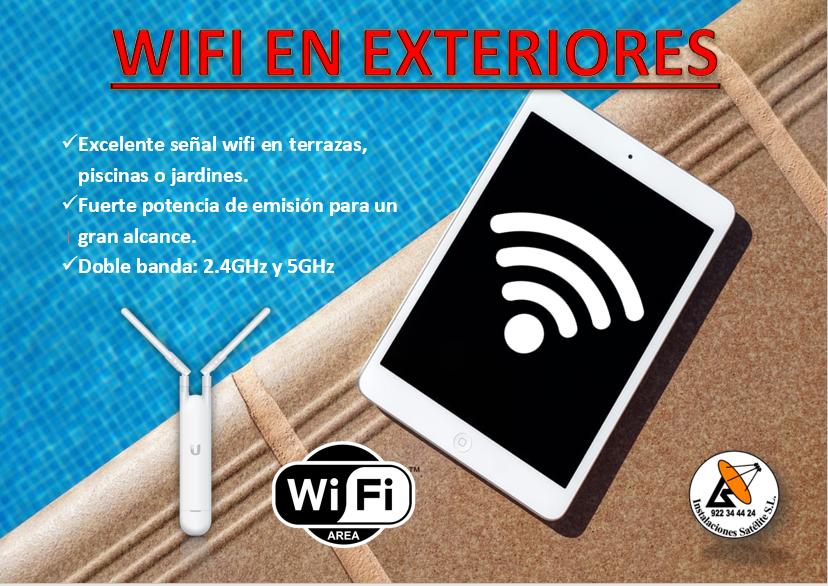 wifi para zonas exteriores