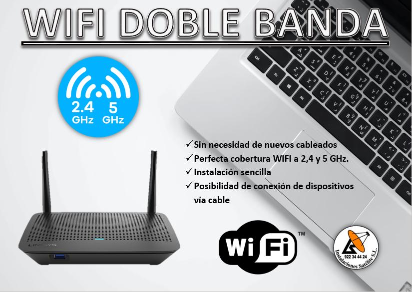 Router wifi doble banda