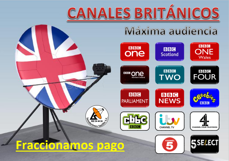canales británicos