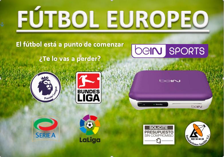 fútbol europeo bein sports