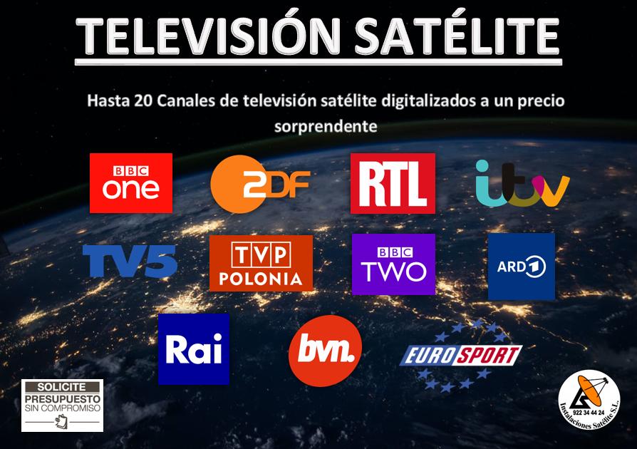 TV Satélite a un precio sorprendente